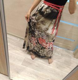 Φόρεμα δεμένη / σιφόν 42 μέγεθος