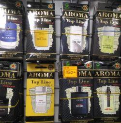 Парфумерні ароматизатори aroma Top Line