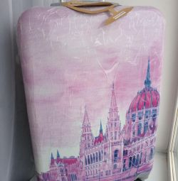 New beautiful suitcase M