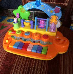 Zürafa'nın gelişen müzik merkezi