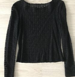 Guipure blouse 44-48 size