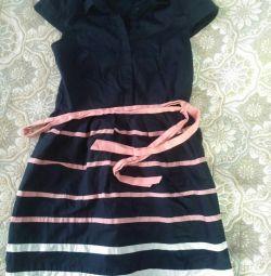 Хлопковое платье Оджи