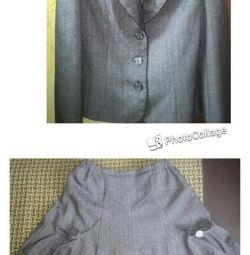 Шкільний костюм для дівчинки! ТОРГ! ОБМІН!