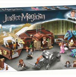 Tasarımcı Bela Adalet Büyücü Newt'in Bavul