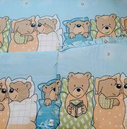 Side children's for a crib