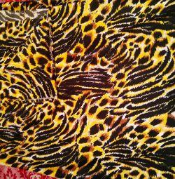 Knit fabric cut