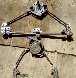 Mecanismul ferestrei Lada