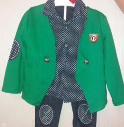 Κοστούμι 4 τεμαχίων