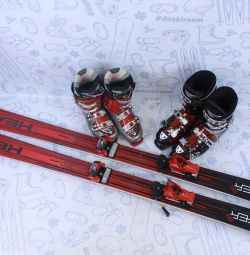 Skis Head Monster 88 (184 cm) + legături + cizme