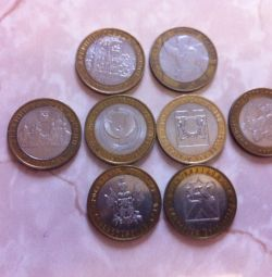 anniversary 10 ruble coins