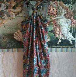 Μεταξωτό φόρεμα Rinascimento