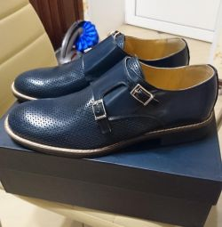 Men's shoes genuine leather