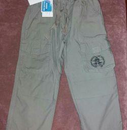 New pants 92-98r