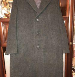 Palton din lână pentru bărbați
