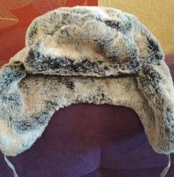 Новая шапка, искусственный мех