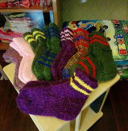 Socks (hand knitted)