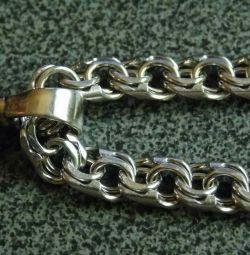 ?Men's silver chain Bismarck 70 grams?