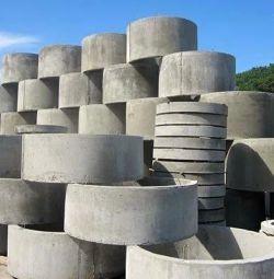 Inele din beton Cesspool