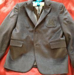 Velor jacket