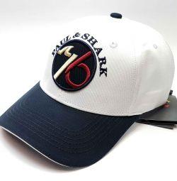 Καπέλο μπέιζμπολ Paul & Shark Flipper cap (λευκό)