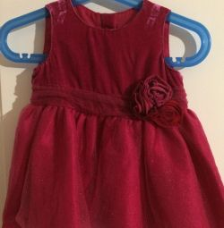 Платье детское около года