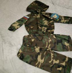 Военный костюм на 1-1,5