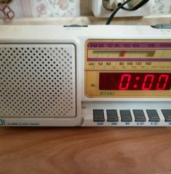 Radio / digital clock / alarm clock SITAKI