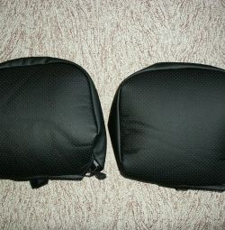 Headrest Covers for Renault Fluence, Megane