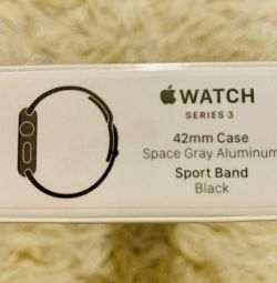 Apple Watch 3 42mm new, original