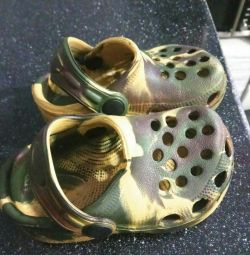 New Slates Crocs Slippers