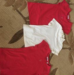 7-8 yaş arası kızlar için tişörtler