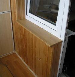 pencere pervazına A sınıfı çam 200-1000х40