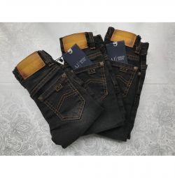 Детские джинсы Армани от 1 до 3 лет