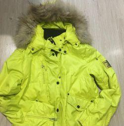 Jachetă naturală blană naturală