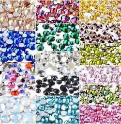 Crystal crystals for nails 300pcs.