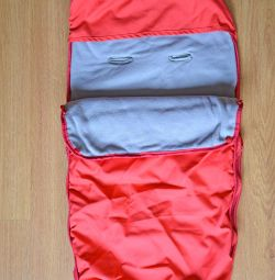 Конверт-мешок теплый в детскую коляску