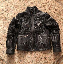 Cea mai tare jacheta din piele italiana, dimensiunea 40-42🇮🇹