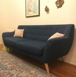 Practically new Mid-century modern couch for sale!