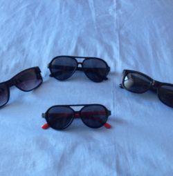 Детские очки сонцезашитни 4 шт
