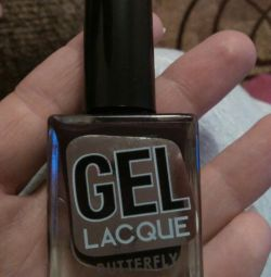 Gel lacquer butterfly