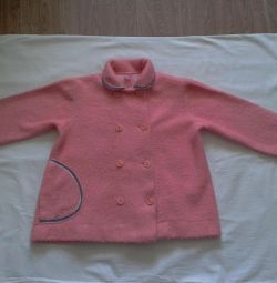Spring-summer sweater coat for baby 1.5-4 years