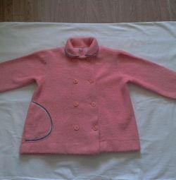 Άνοιξη-καλοκαίρι πουλόβερ παλτό για το μωρό 1.5-4 χρόνια