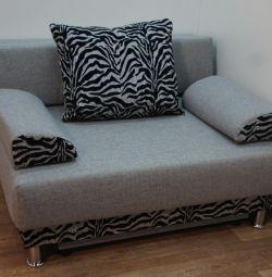 New Sofa Naples Aprel Zebra Gray