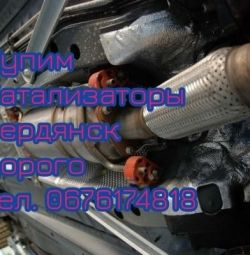 We buy Catalysts in Berdyansk. Expensive.