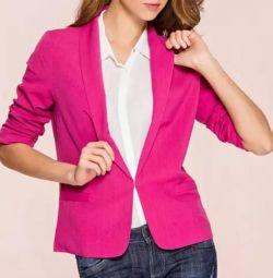 Пиджак женский цвета фуксия 44-46