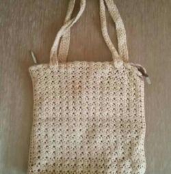 Вязанная сумка