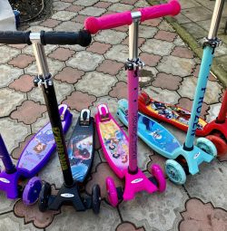 Scooters reinforced with new characters