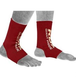 Ankle support RDX a2 red