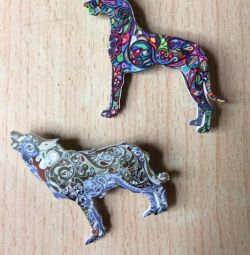Acrylic Brooches