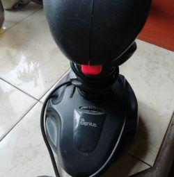 Joystick game computer